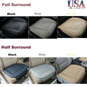 Pu Leather Bamboo Charcoal Full Surround 3d Auto Seat Cover Protect Cushion Mat