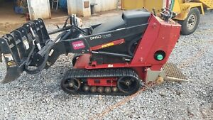 2014 Toro Dingo Tx525 Wide Track Mini Skid Steer