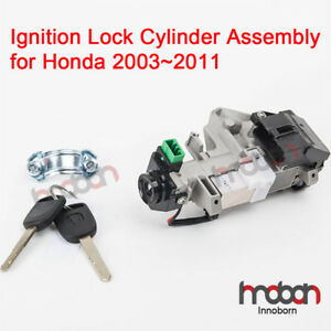 Ignition Switch Lock Cylinder Assembly For Honda Accord Civic 2003 11 With Keys