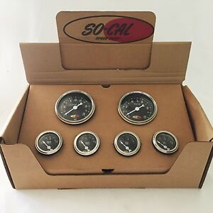 So cal Speed Shop 6 Gauge Set New Style