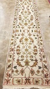 2 6 X 10 Antiquity Turkish Oushak Tribal Hand Knotted 100 Wool New Rug Runner
