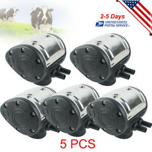 5pcs 60 40 L80 Pneumatic Pulsator For Farm Cow Milking Machine Dairy Milker Usa