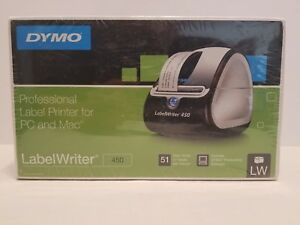 New Sealed Dymo Labelwriter Turbo 450 Black And White Label Thermal Printer