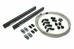 Holley 534 210 Billet Fuel Rail Kit oe Style Ls Intakes