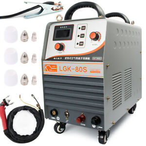 Plasma Cutter Pilot Arc Cutting Welding Machine 80amp Cnc Inverter Welder 380v