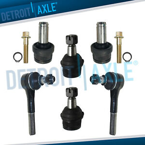 1993 1996 1997 Ranger Navajo B4000 Upper Lower Ball Joints Outer Tie Rods 4wd