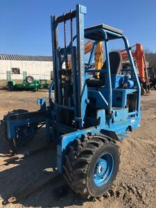 1993 Princeton D5000 Forklift Hatz Diesel Air Cooled Engine 5000lb Capacity