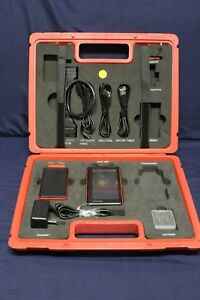 Launch X 431 Diagun Diagnostic Tool In Case With Cables Charger And Connector C1