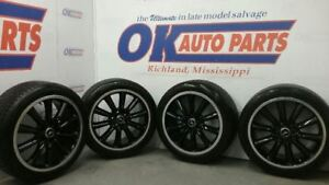 13 Mustang Boss 302 Wheels With Tires 19x9 Front 19x9 5 Rear