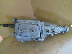 1963 Corvette Impala 409 Borg Warner 4 Speed Transmission Aluminum T 10 Rat Rod