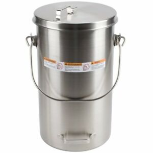 Vollrath Stainless Steel Ice Cream Pail W cover 20 Qt 59200 Lowest Price Usa
