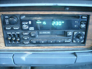 Chrysler Dodge Plymouth Am Fm Cd Tape Radio