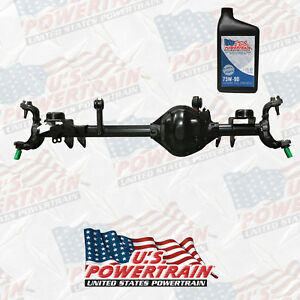 Complete Assembly Front Dana Spicer Fits 07 15 Jeep Wrangler 4 10 Dana 44 W Oil