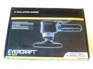 6 Dual Action Air Sander Evercraft 776 9263 New Free Shipping