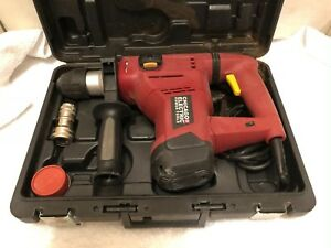 Chicago Electric 69274 Corded 10 Amp 1 1 8 Rotary Hammer