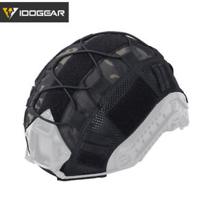 IDOGEAR Tactical Helmet Cover for FAST Helmet Gear BJPJMH Type Paintball Camo