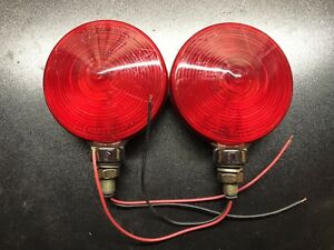 Grote 5065 Rat Rod Tail Lights Stop Turn Signals Ford Harley Davidson Brake