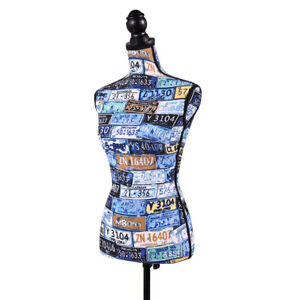 Female Mannequin Torso Dress Form Display W tripod Stand Designer Pattern