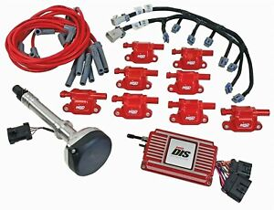 Msd 60151 Dis Ignition Kit Chevy Small Big Block Red Sbc Bbc