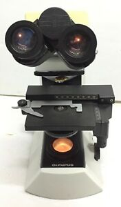 Olympus Cx21 Cx21fs1 Microscope Body With Condenser And 10x 18 Eyepiece