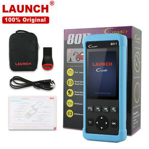 Launch Cr8011 Code Reader Obd2 Can Epb Abs Srs Auto Oil Reset Diagnostic Scanner