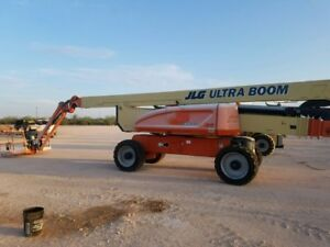 2008jlg 1250 Ajp 4x4 125 Telescopic Boom Lift Man Lift 63 2 Verticle Height