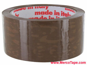 Merco M719 Pvc Carton Sealing Tape 48mm X 55 Yds Tan 36 Rolls