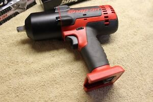 New Snap on 18v 1 2 Drive Cordless Monster Lithium Impact Wrench Ct8850