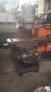 Milling Vertical K t milwaukee Mod h 10x50 Table Power X y Z Reduced