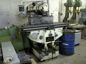 Vertical Milling Machine Huron Type All angle Head Dro Guilin Drummond