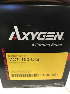 Axygen Mct 150 c s Maxyclear Boil proof Microcentrifuge Tubes 1 5ml 250pk