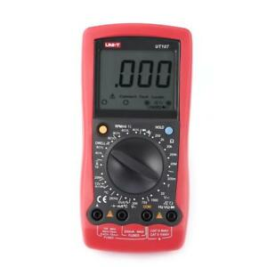 Uni t Ut107 Lcd Handheld Digital Multimeter Automotive Car Meter Voltmeter