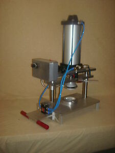 Brand New Inline Pie Press With Tooling