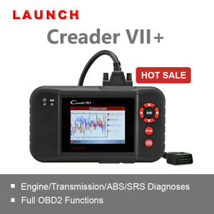 Launch X431 Creader Vii Crp123 Obd2 Code Reader Scanner Auto Diagnostic Tool