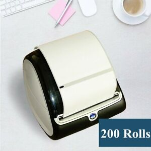200 Rolls 4x6 Thermal Shippinng Labels 1744907 Compatible Dymo Labelwriter 4xl