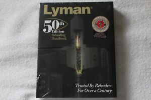 LYMAN 50th Edition Reloading Softcover Manual NEW and WRAPPED