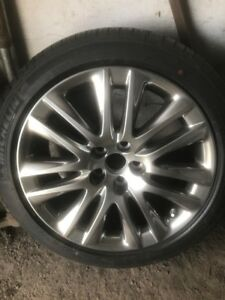19 Style Wheels Rims Fits Lexus Ls460 With Tire Brand New Oem