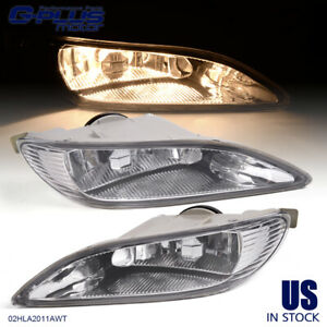 Bumper Driving Fog Lights Clear For Toyota 2005 2008 Corolla 2002 2004 Camry