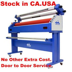 Usa 110v 1600mm 63 Semi auto Large Format Cold Laminator And Mounting Machine