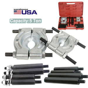 12pcs Bearing Separator Puller Set 2 3 Splitters Remove Bearings Heavy Duty
