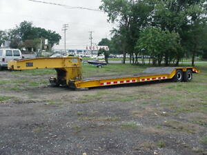 1977 Centreville 35 Ton Detachable Rgn Trailer