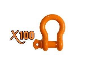 1 2 2 All Alloy Clevis Screw Pin Anchor Shackle X100 Brand Heavy Duty Safety