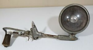 Guide S 18 Spotlight Mirror Rat Rod Gm Chevy Police Fire 40s 50s Left Vintage