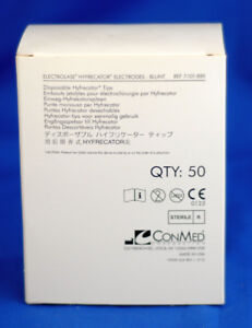 Conmed Electrolase Disposable Hyfrecator Tips Blunt 7 101 8bx 50 Count New