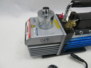 Totaline 2 Stages Vacuum Pump Model P920 vac4d060 Blue Paint