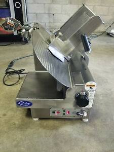 Globe 3850p Automatic Food Slicer Knife Clean Meat Cheese Commercial Stainless