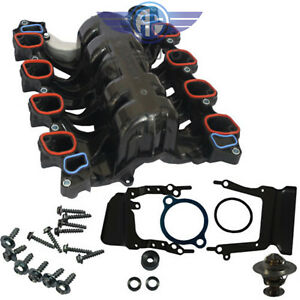 329 01514 Intake Manifold W Gasket Thermostat O Rings For Ford Mercury Lincoln