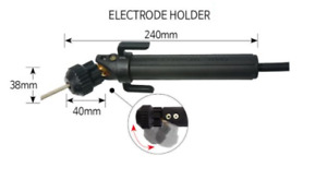 Pivoting Head Arc Welding Stick Electrode Holder One Of A Kind Korea Patented