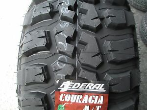 4 New 315 75r16 Inch Federal Mud Tires 315 75 16 3157516 75r R16 M T Mt