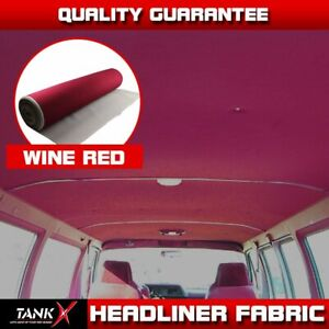 80 X60 Car Boat Headliner Fabric Material Top Roof Liner Upholstery Decorate